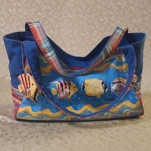 Paul Brent beach bag / tote bag
